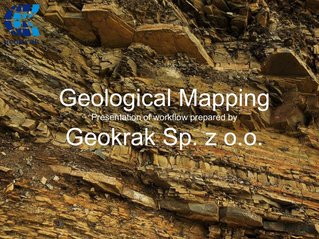 geological mapping geokrak